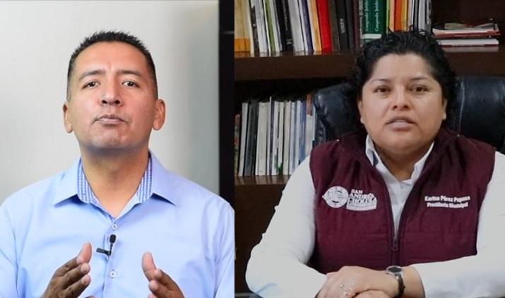 Se enfrentan de nuevo Tlatehui y Pérez Popoca por San Andrés Cholula