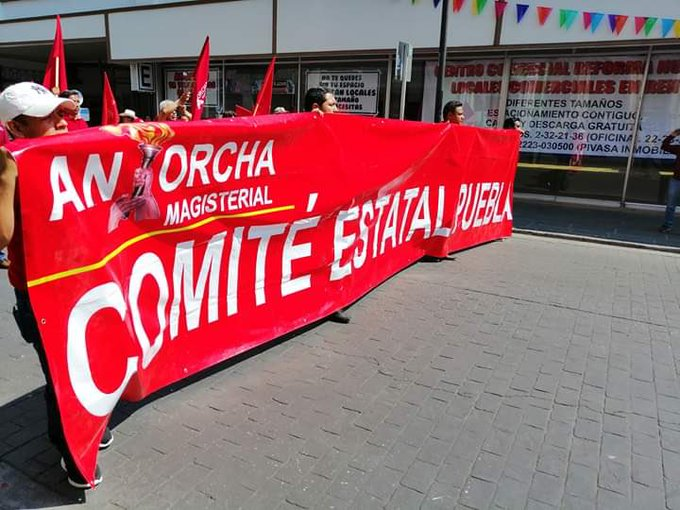 Antorcha Campesina exige a SEP Puebla plazas magisteriales