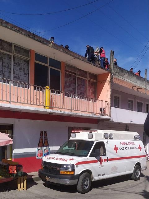 Hace reparaciones en vivienda y se electrocuta en Xicotepec