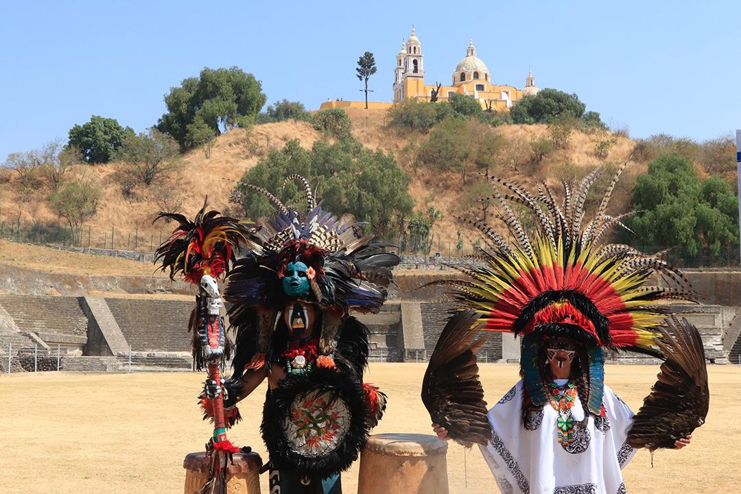 Parque de las 7 Culturas en Cholula posible escenario del Equinoccio de Primavera