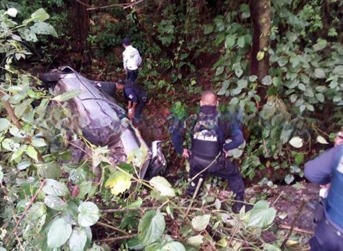 Estadounidense resulta lesionada en accidente carretero en Yaonáhuac