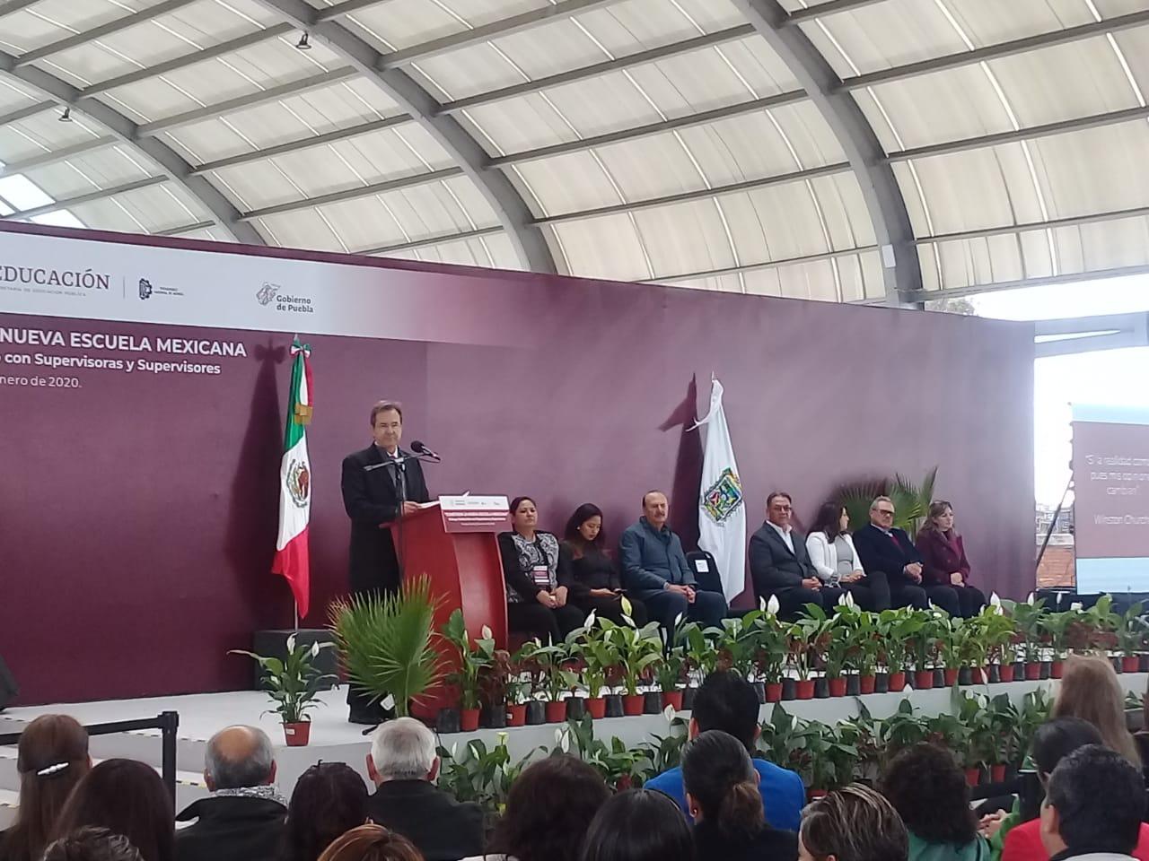La SEP federal atenderá a los estados de sureste del país en Puebla