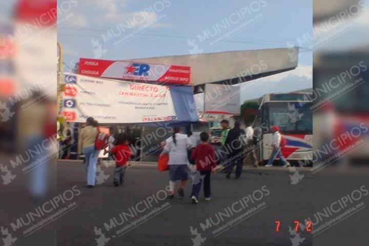 Roban 100 mil pesos de estación de Estrella Roja en Texmelucan