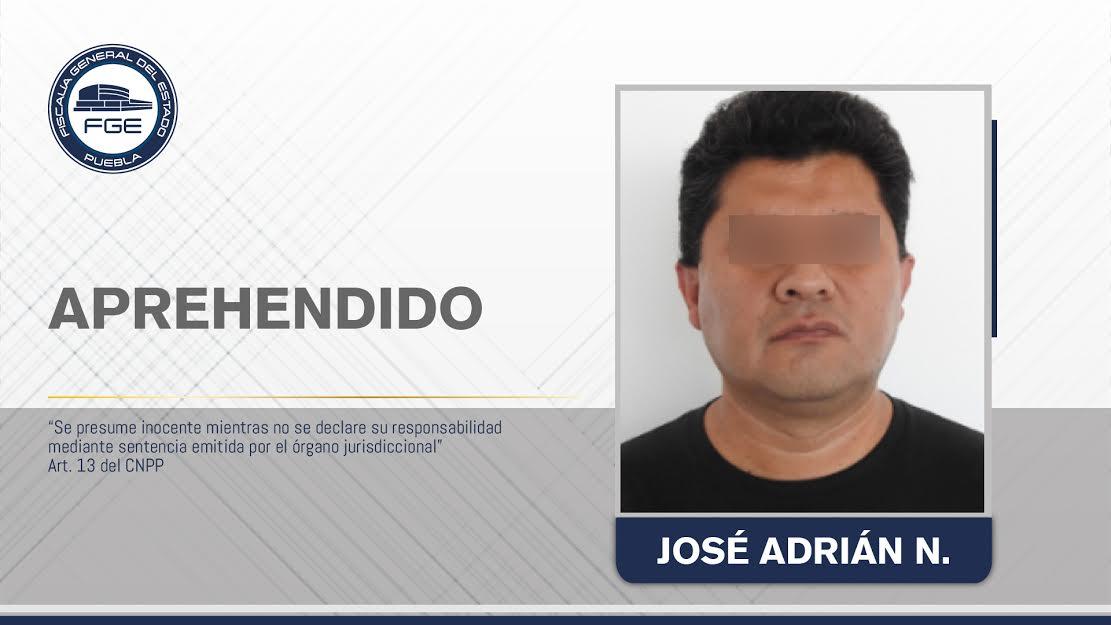 Embarazó a la hija de su pareja en Puebla