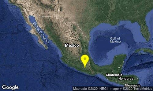 Tiembla en Chiautla de Tapia en medio de contingencia por Covid-19
