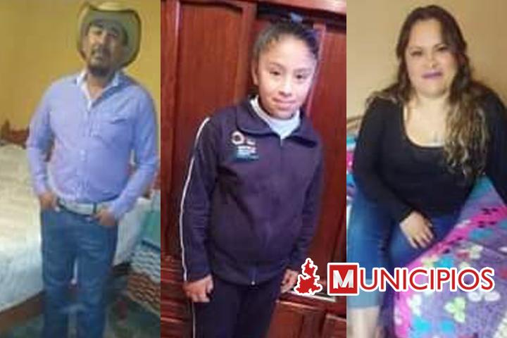 Desaparece familia de Cañada Morelos
