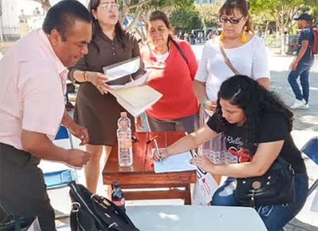 Avanza recolección de firmas para disolver Cabildo de Tehuacán