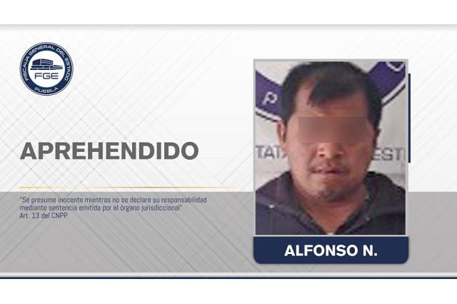 Alfonso violaba a sus hijas de 6 y 9 años en Acajate, ya fue detenido