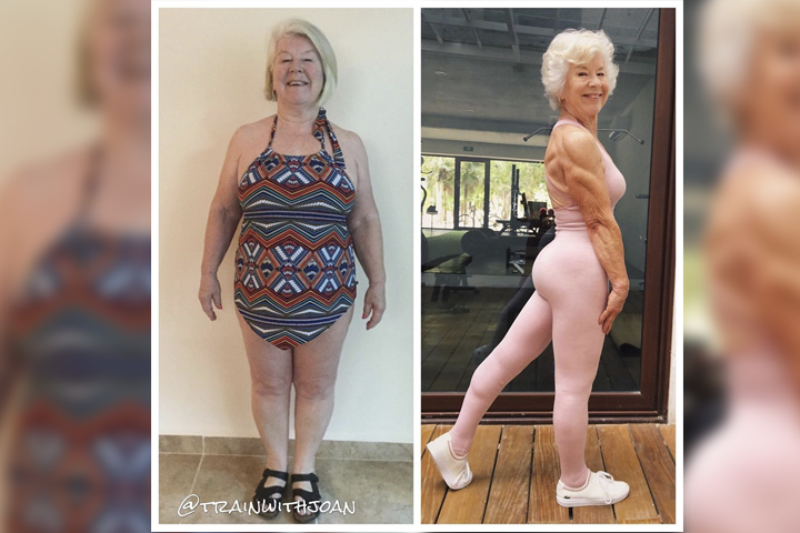 Abuelita fitness se hace influencer tras cambio radical