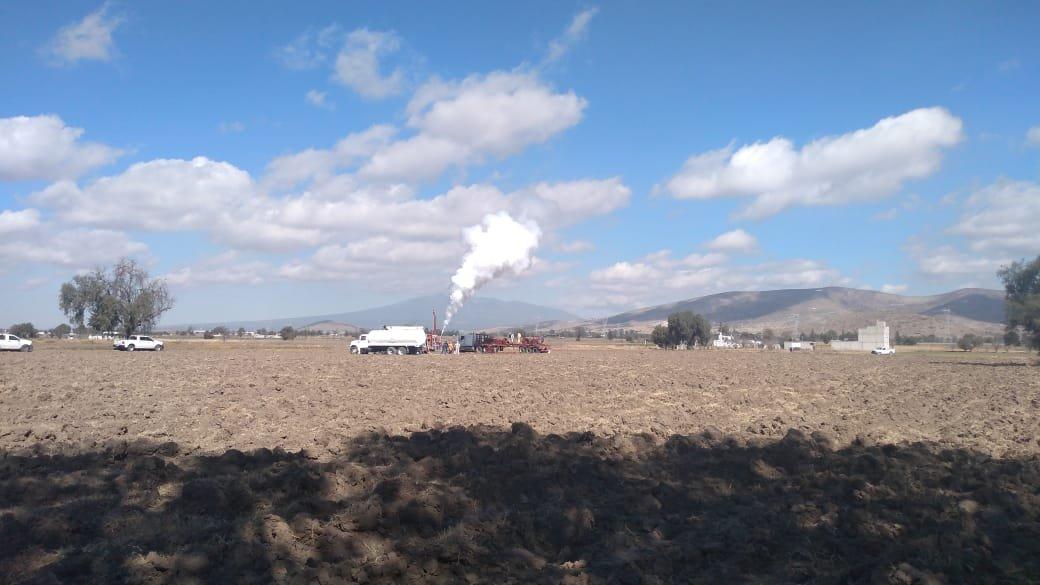 Detectan fuga de gas LP en varias tomas clandestinas en Tepeaca