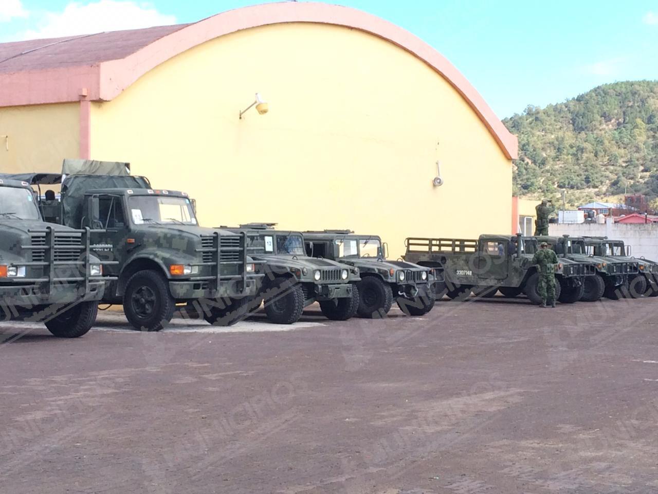 Se instala Guardia Nacional en Ciudad Serdán