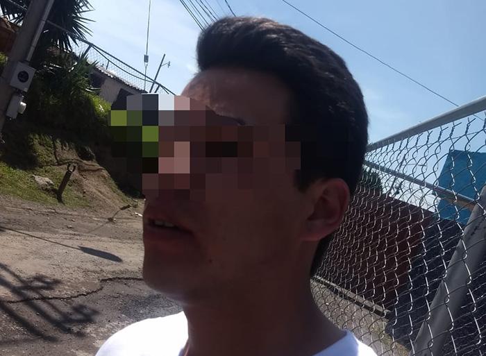Policía Ministerial golpea a municipales  para liberar a su hijo en Texmelucan
