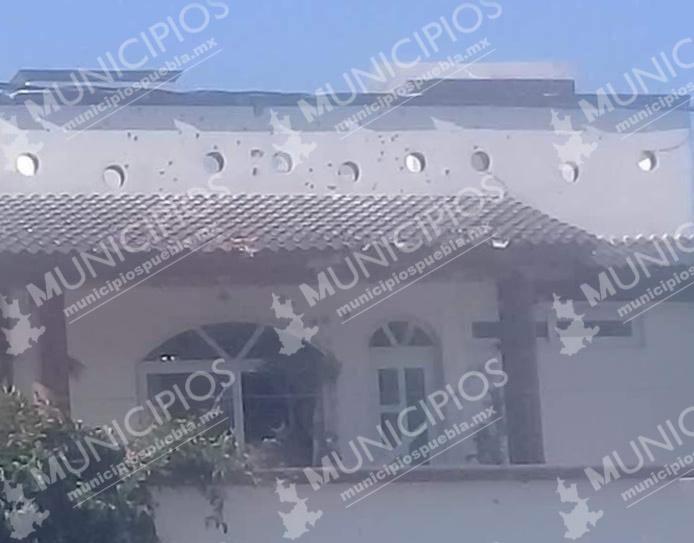 Lanzan granada a vivienda de Tecamachalco