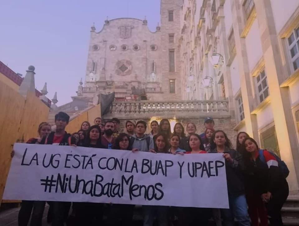 Universidad de Guanajuato apoya protestas de la BUAP y UPAEP