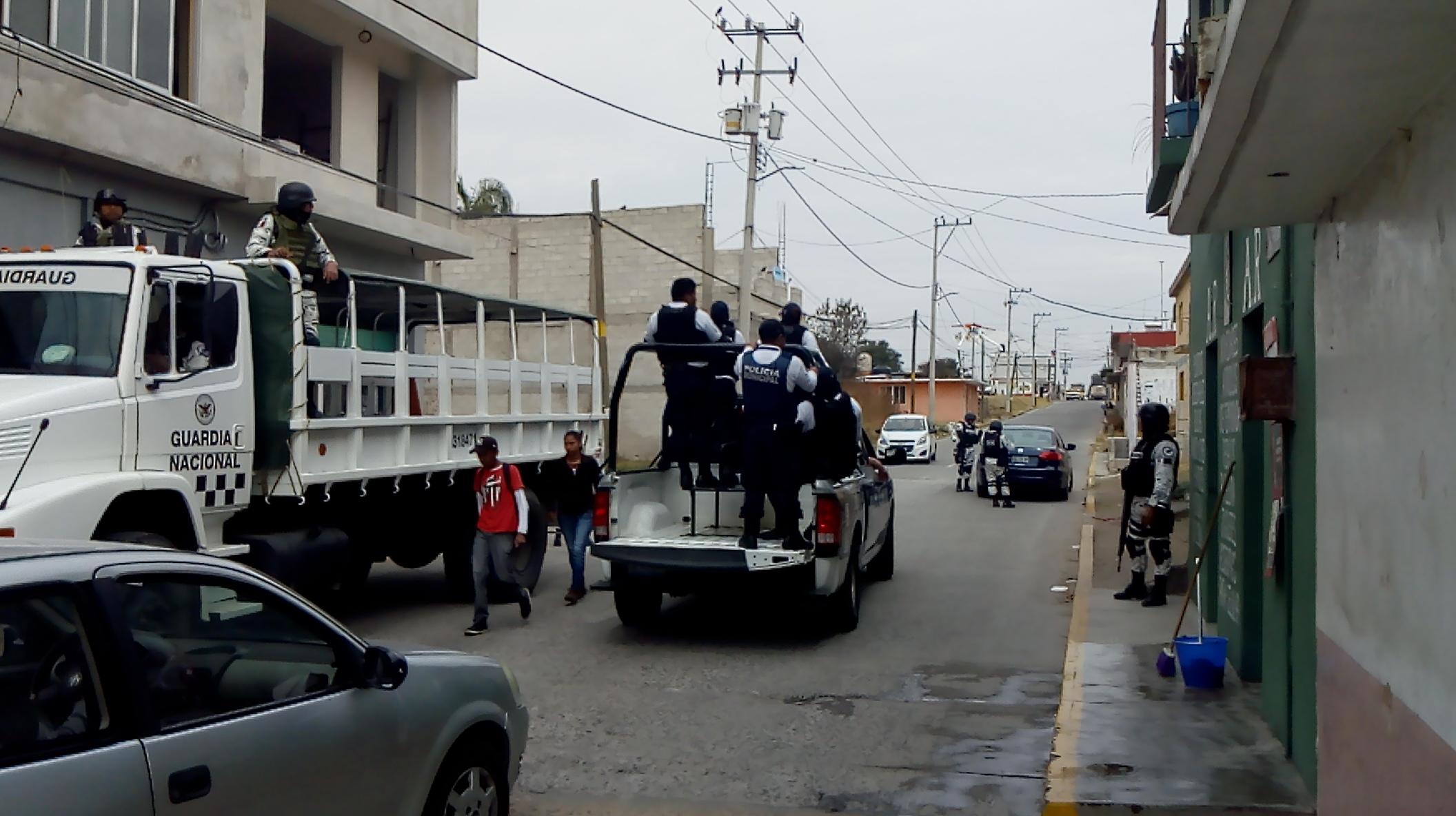 Guardia Nacional refuerza operativos en Chiautzingo