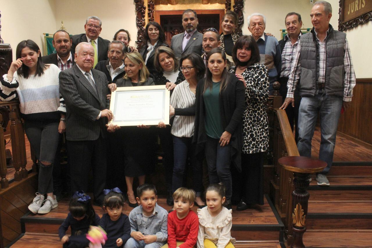 AMPEP homenajea al periodista Mauro González