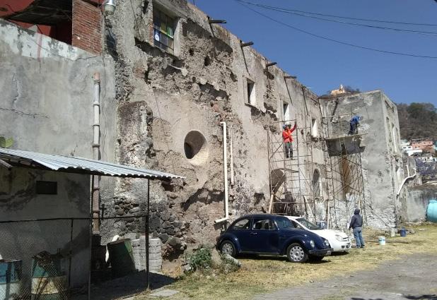Comienzan trabajos de reconstrucción en el ex hospital de Atlixco