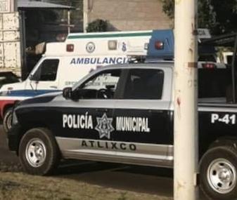 Matan a dos hombres en balacera en colonia Valle Sur de Atlixco