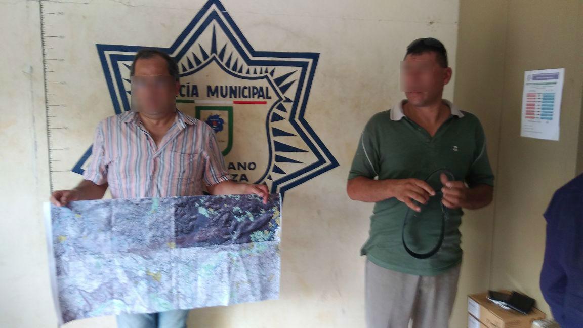 Atrapan a sospechosos de vandalizar elección en V. Carranza