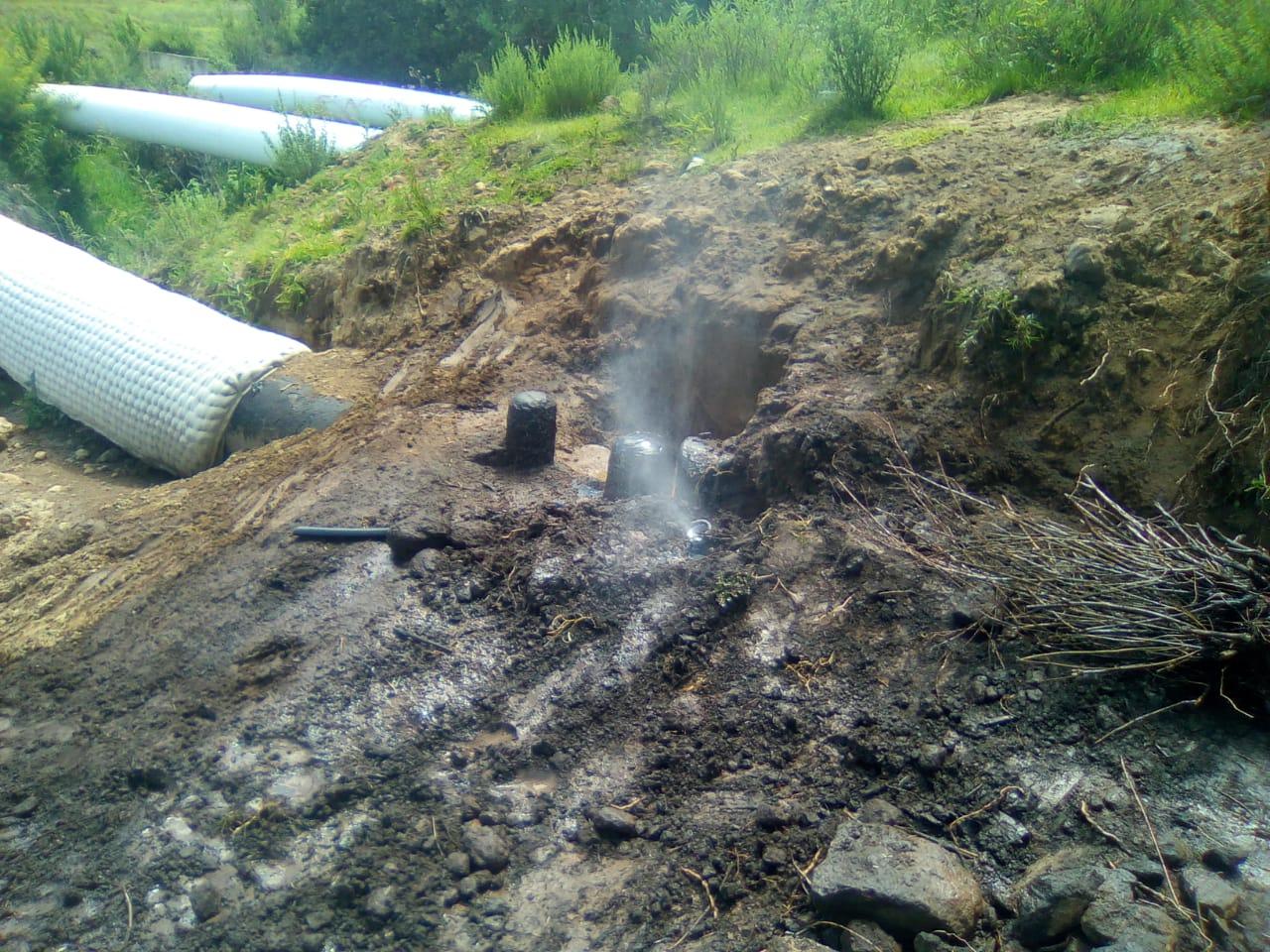 Detectan robo de combustible en ductos de Tlalancaleca