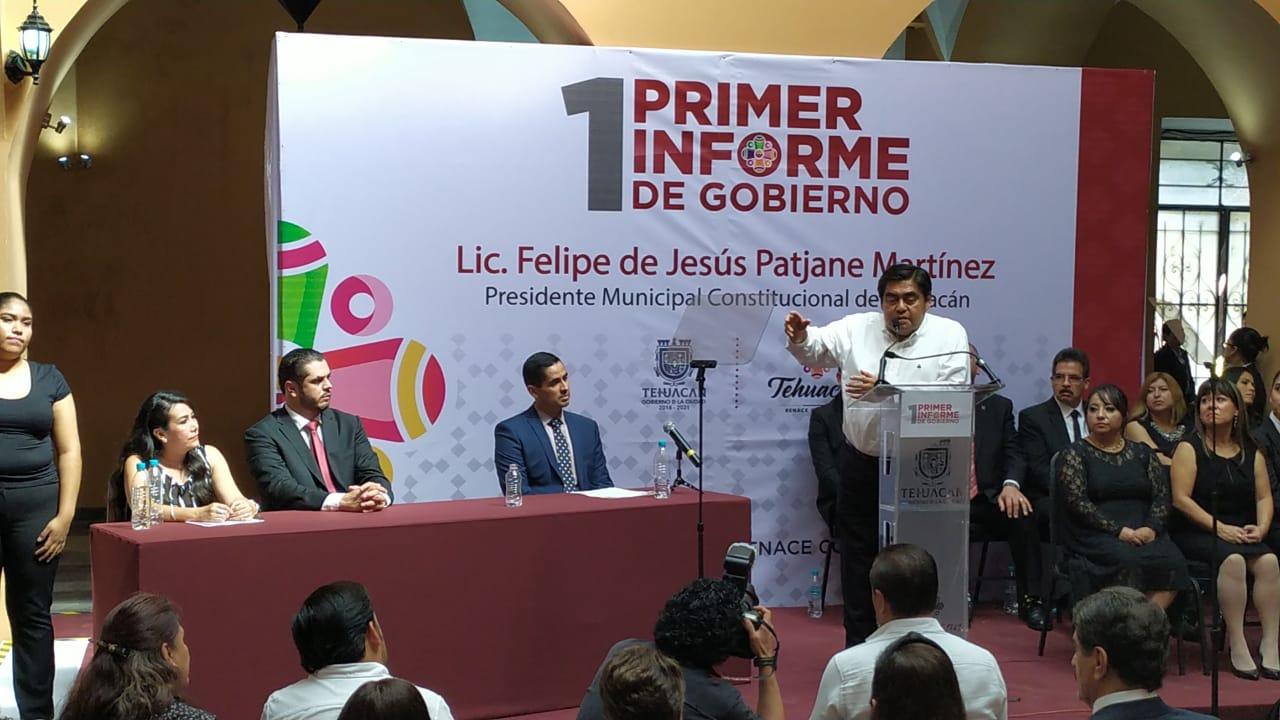 Habrá limpia en gobierno de Patjane, Tehuacán está quebrado: Barbosa