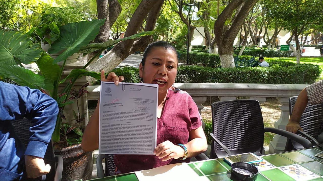 Por gresca en asamblea de Morena en Ajalpan, denuncian a funcionarios