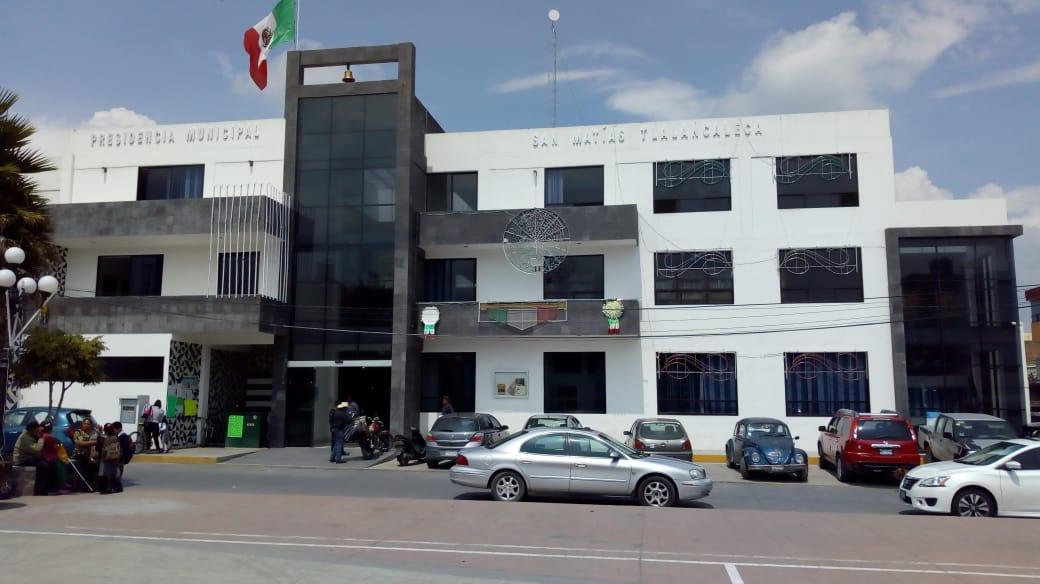 Buscan crédito para pagar aguinaldo en Tlalancaleca