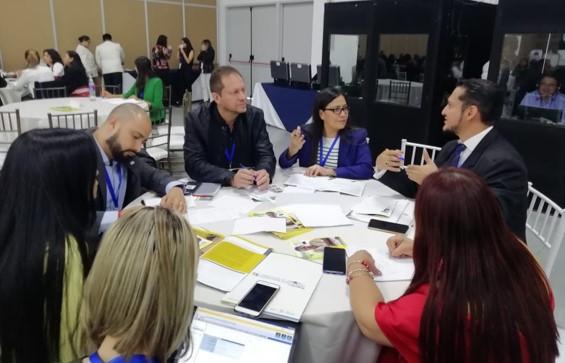 Gobierno de Puebla participa en el foro mundial de migración en Ecuador