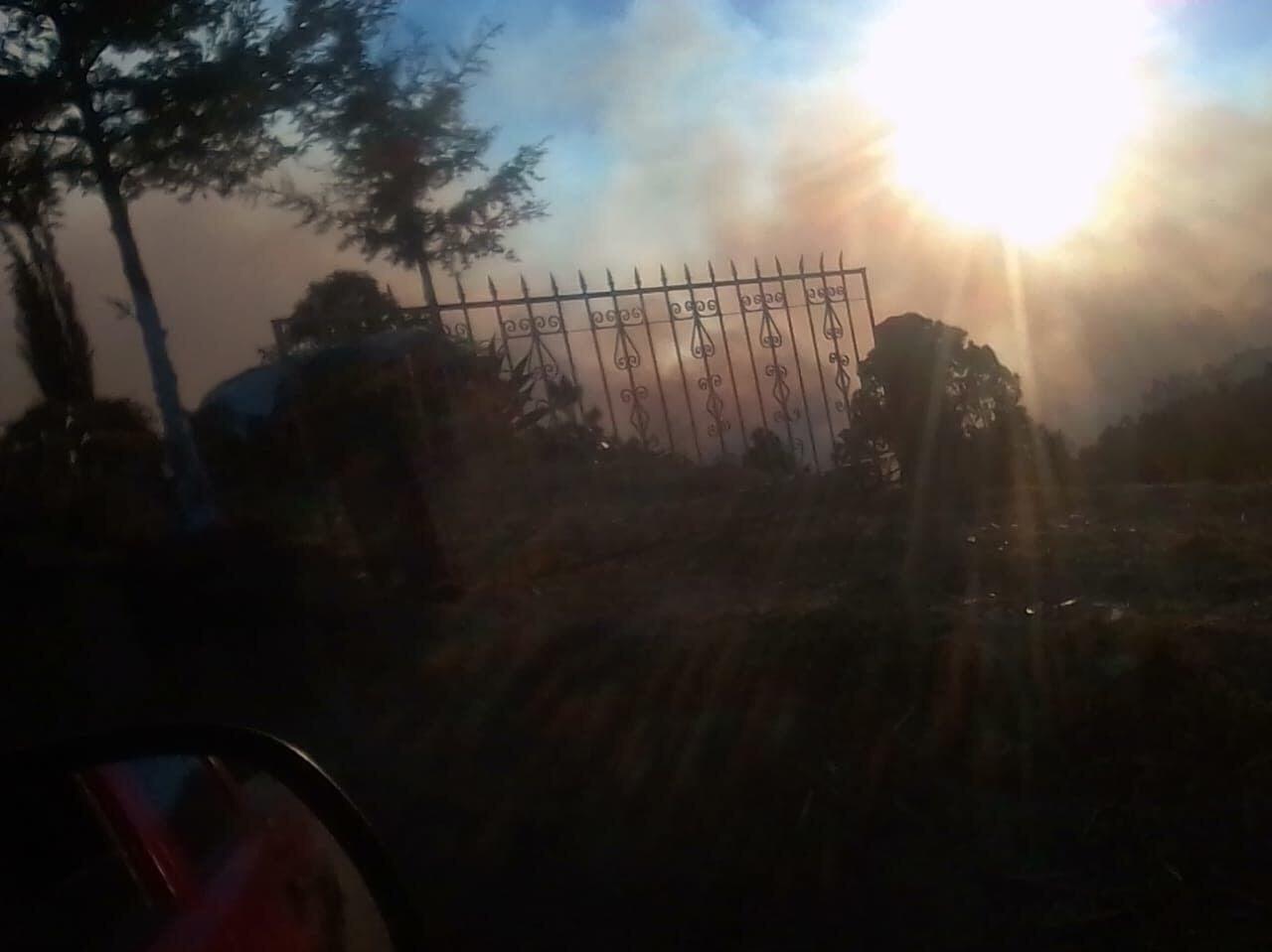 Piden ayuda para controlar incendio en Ixtacamaxtitlán