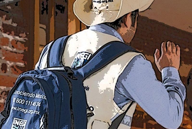 Amagan en vehículo particular a encuestador de Inegi en Teziutlán