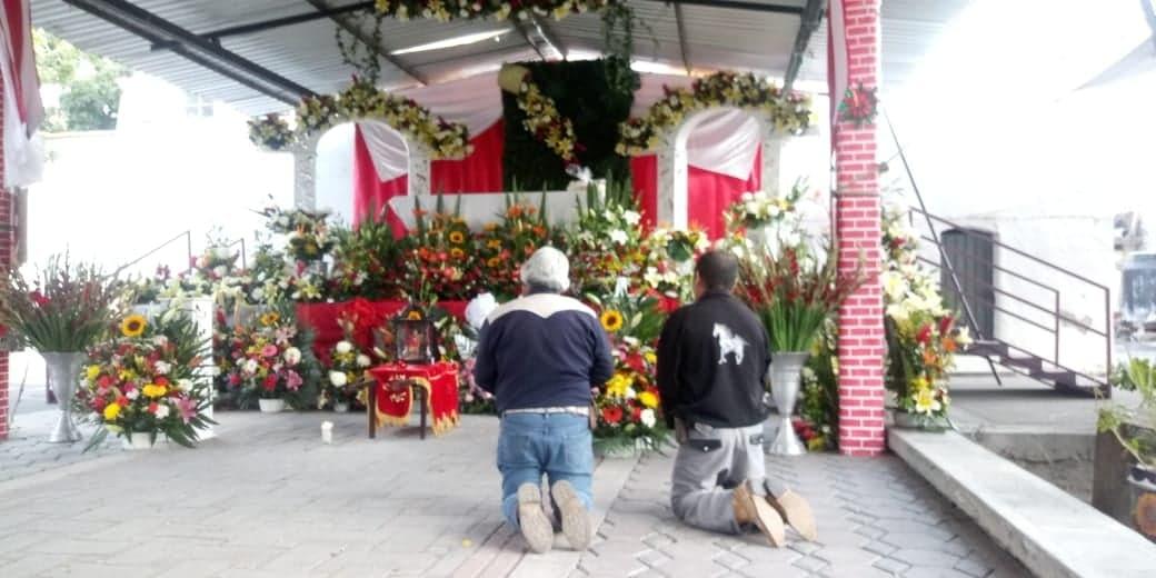 Con apoyo de migrantes celebran a los Santos Sebastián y Fabián en Izúcar