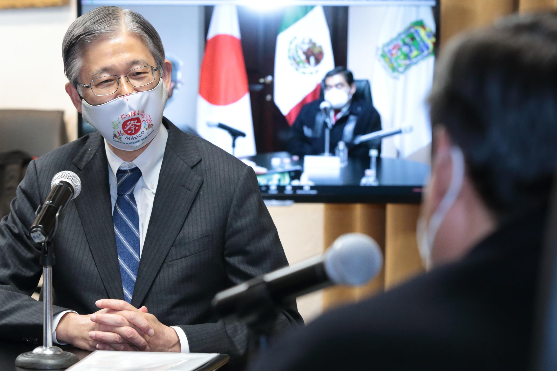 Japón y Puebla ampliarán relaciones bilaterales