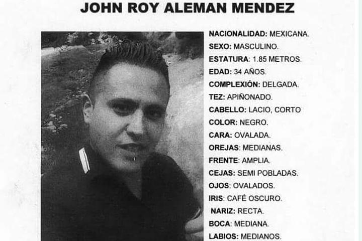 John desapareció en las calles del centro de Puebla