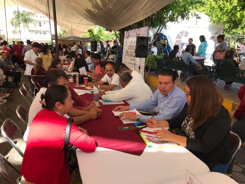 Jornadas ciudadanas en Izúcar atienden 150 solicitudes cada semana