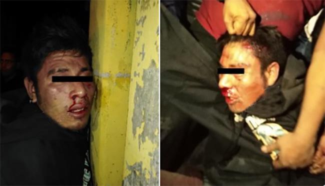 Asalta a pareja y vecinos se le van a golpes en Barrio de San Miguelito