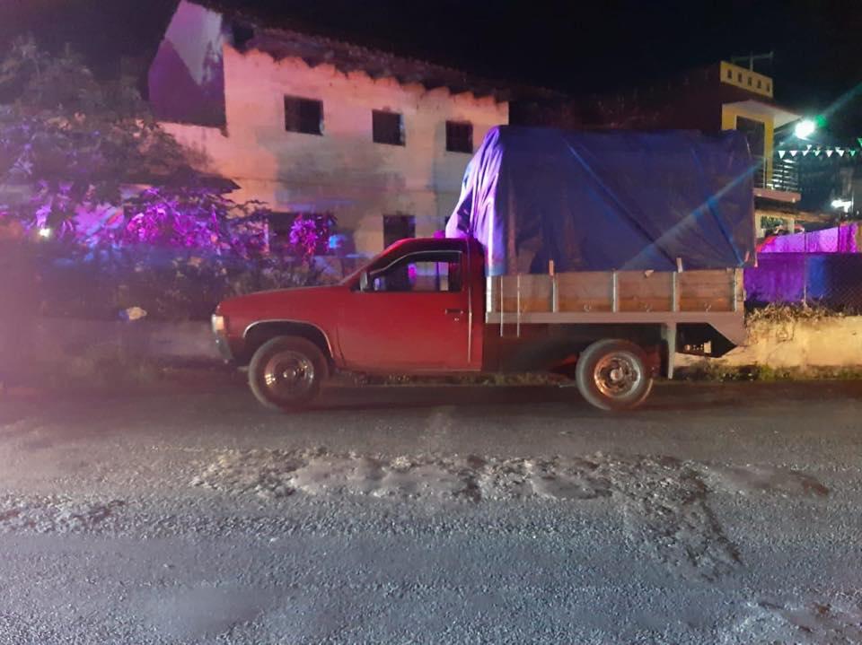 Casi lo linchan en Zacapoaxtla porque robó una camioneta