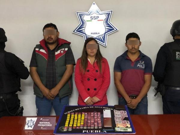 Cae en Huauchinango La Lari, líder de banda de huachicoleros y secuestradores