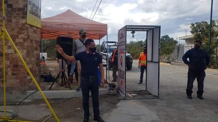 Refuerzan medidas preventivas en maquiladoras de San José Miahuatlán