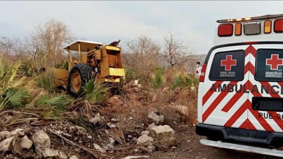 Vecino de Atlixco muere tras ser aplastado por vibrocompactadora