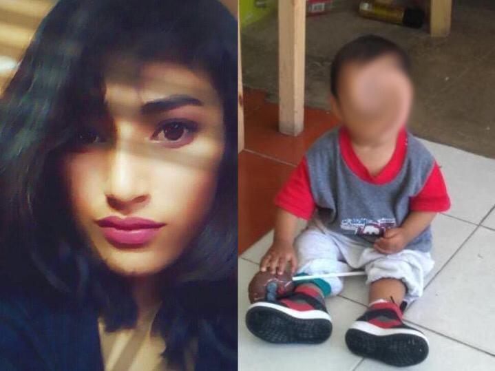 María Guadalupe desapareció con el menor Yael en Tecamachalco