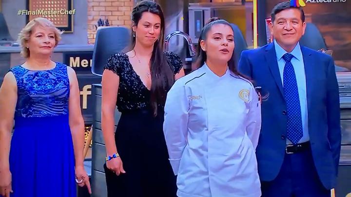 Ganadora de Master Chef se hace viral por negar a su esposa