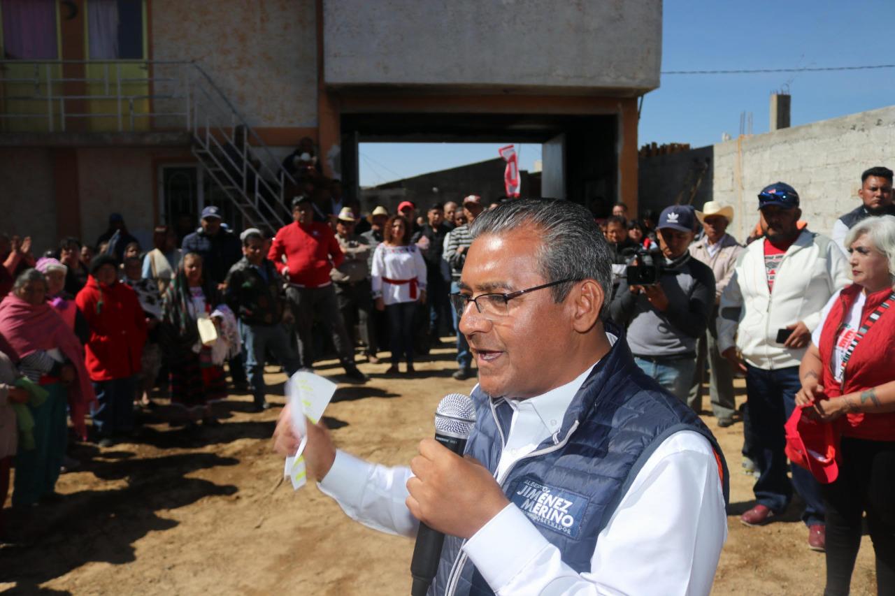 Reprueba Jiménez Merino condicionamiento de programas sociales