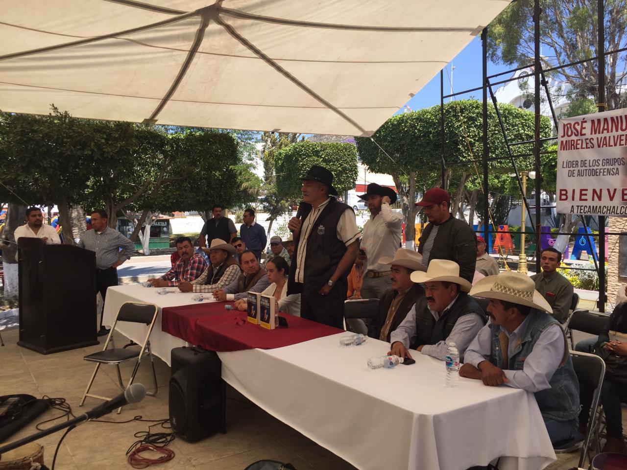 En Puebla sí hay autodefensas: Mireles Valverde