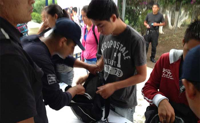 Pide Congreso investigar operativo mochila en bachillerato de Mazapiltepec