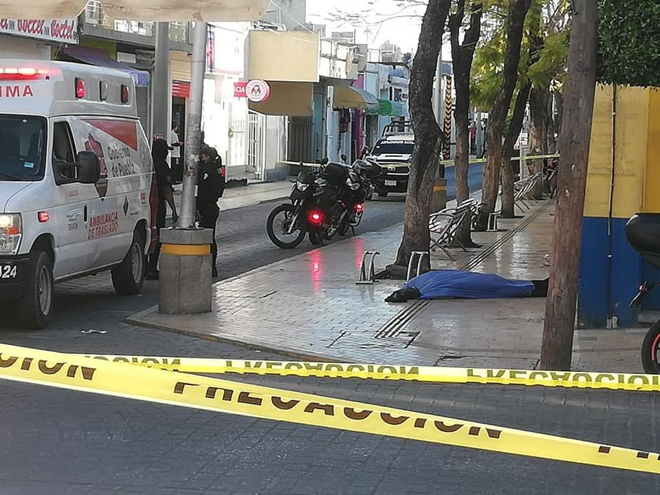 Muerte sorprende a hombre calles de Tehuacán