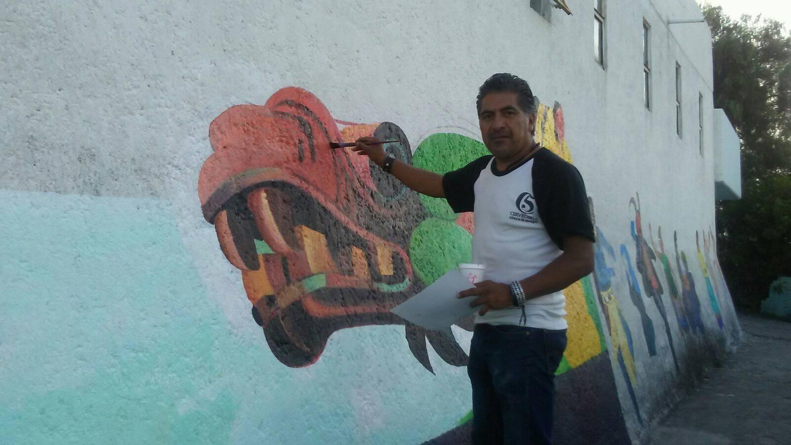 Plasmarán murales locales por el Huey Atlixcáyotl