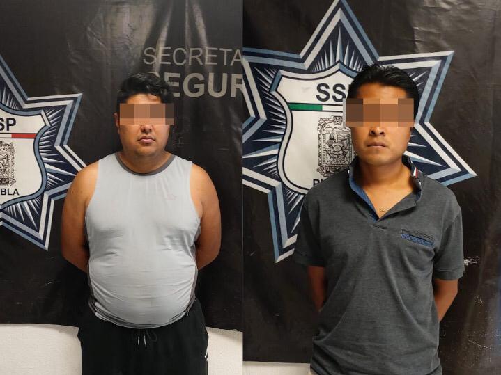 Detienen a narcomenudistas en centro comercial de Cuautlancingo