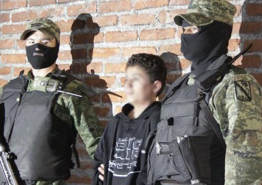53 niños sicarios detenidos en Puebla