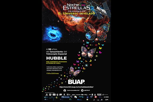Invita BUAP a la gran fiesta astronómica Noche de las Estrellas 2020