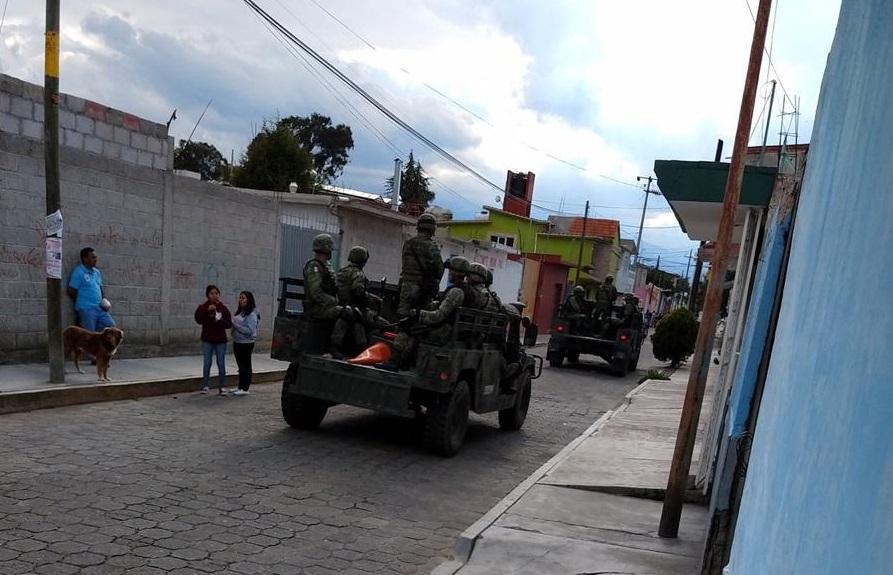 Desarman en Nopalucan a elementos de la Guardia Nacional